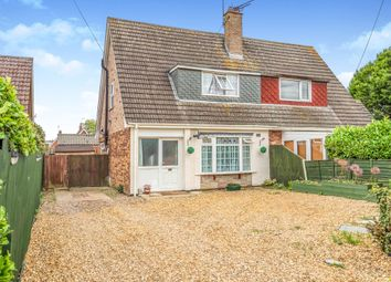 Thumbnail 2 bed semi-detached house for sale in Sir Williams Close, Aylsham, Norwich