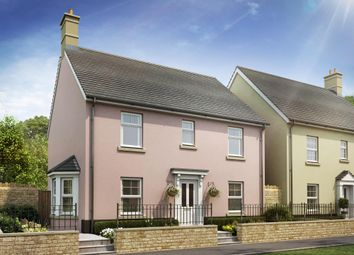 "Thumbnail 4 bed detached house for sale in ""Thame"" at Bevans Lane, Pontrhydyrun, Cwmbran"