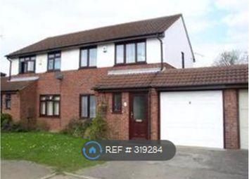 Thumbnail 3 bedroom semi-detached house to rent in Hepleswell, Milton Keynes