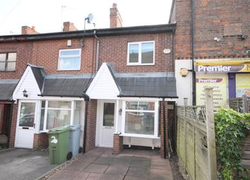 Thumbnail 2 bed terraced house for sale in Long Row, Newark, Nottinghamshire.