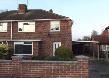 Thumbnail 3 bed semi-detached house to rent in Coronation Walk, Gedling