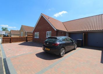 Thumbnail 2 bed semi-detached bungalow to rent in Eriswell Drive, Lakenheath, Brandon