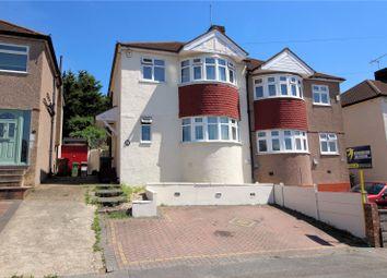 Thumbnail 3 bed end terrace house for sale in Edendale Road, Barnehurst, Kent
