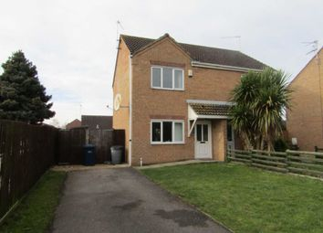 Thumbnail 2 bed semi-detached house to rent in Tindall Close, Wisbech