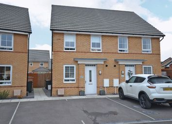 Thumbnail 2 bed semi-detached house for sale in Stylish Semi-Detached House, De Haia Road, Newport