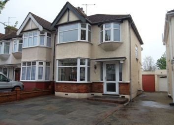 Thumbnail 3 bed semi-detached house to rent in Carlton Road, Gidea Park