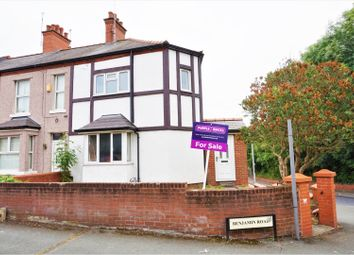 Thumbnail 2 bed end terrace house for sale in Benjamin Road, Wrexham