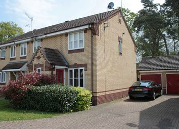 Thumbnail 2 bedroom semi-detached house to rent in Rosecroft Way, Thetford