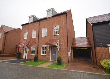 Thumbnail 4 bed semi-detached house for sale in Merriall Close, Castle Hill, Ebbsfleet Valley, Swanscombe