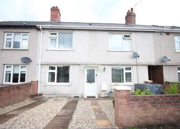 Thumbnail 3 bed terraced house for sale in Newport Road, Risca, Newport
