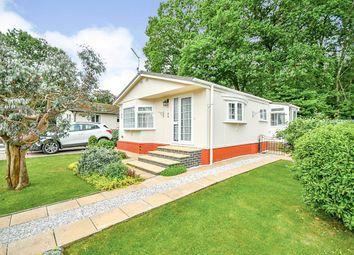 Thumbnail 3 bed mobile/park home for sale in Lydiard Residential Park, Royal Wootton Bassett, Swindon