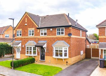 Thumbnail 3 bed semi-detached house for sale in Peregrine Drive, Leigh, Lancashire