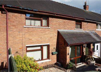 Thumbnail 3 bed terraced house for sale in Bryn Awel, Wrexham