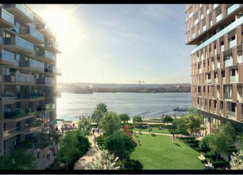 Thumbnail 2 bed flat for sale in Royal Wharf, London