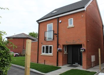 Thumbnail 4 bedroom detached house for sale in Kage Close, Kingsway, Rochdale