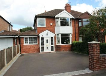 Thumbnail 3 bed semi-detached house for sale in Woodhouse Lane East, Timperley, Altrincham