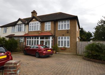 Thumbnail 4 bed semi-detached house for sale in Sparrow Farm Road, North Cheam, Sutton