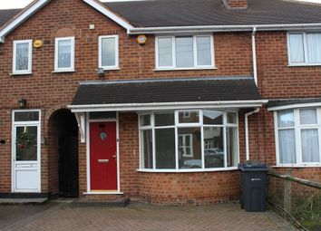 Thumbnail 3 bed terraced house to rent in Clarendon Road, Four Oaks, Sutton Coldfield
