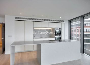 Thumbnail 3 bedroom flat to rent in Hamilton House, Fulham Reach