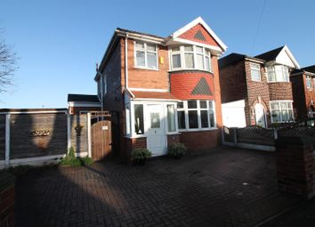 3 bed detached house for sale in Conway Road, Urmston, Manchester M41