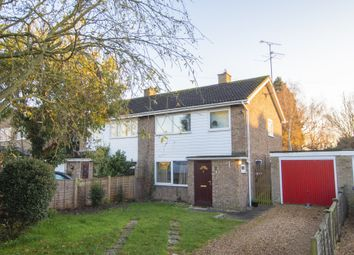 Thumbnail 3 bed semi-detached house for sale in Thodays Close, Willingham