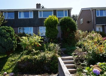 Thumbnail 3 bed semi-detached house for sale in Knighton Road, Wembury, Plymouth