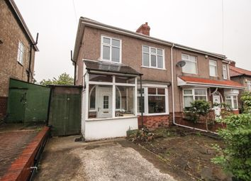 Thumbnail 3 bedroom semi-detached house for sale in Baxter Avenue, Fenham, Newcastle Upon Tyne