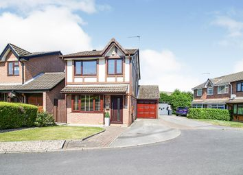 Thumbnail 3 bed detached house for sale in Linnet Close, Spondon, Derby