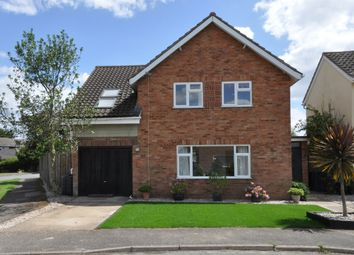 Thumbnail 4 bed detached house for sale in Chaplin Road, East Bergholt, Colchester