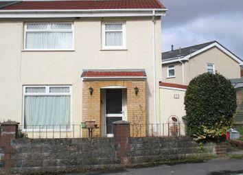 Thumbnail 3 bed semi-detached house for sale in Maescynon, Hirwaun, Aberdare