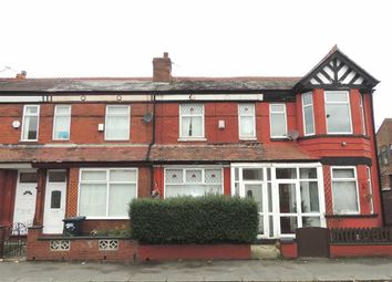 Thumbnail 3 bed terraced house to rent in Fairbourne Road, Levenshulme, Greater Manchester
