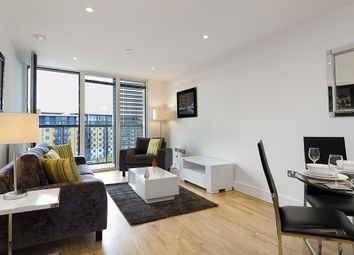 Thumbnail 2 bed flat to rent in Admirals Tower, 8 Dowells Street, New Capital Quay, Greenwich, London