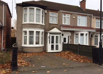 Thumbnail 3 bed end terrace house for sale in Catesby Road, Radford, Coventry