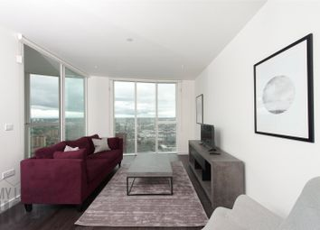 Thumbnail 2 bed flat to rent in Sky Gardens, Wandsworth Road, Vauxhall, London