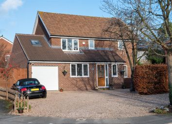 Thumbnail 3 bed detached house for sale in Lea Close, Broughton Astley, Leicester