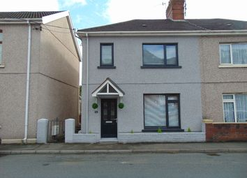 Thumbnail 3 bed semi-detached house for sale in Gwscwm Road, Burry Port