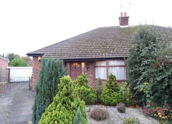 Thumbnail 2 bed semi-detached bungalow to rent in Hillside Road, Burbage, Hinckley