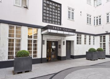 Thumbnail 1 bed flat for sale in Troy Court, Kensington High Street, London