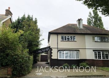 Chesterfield Road, West Ewell, Epsom KT19. 3 bed semi-detached house