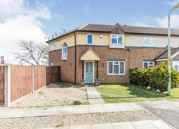 Thumbnail 3 bed semi-detached house for sale in Broad Meadow, Ipswich