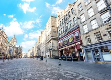 Thumbnail 1 bedroom flat to rent in 233/1 Geddes Entry, High Street, Edinburgh