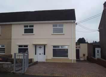 Thumbnail 3 bed semi-detached house for sale in Caeglas, Cross Hands, Llanelli