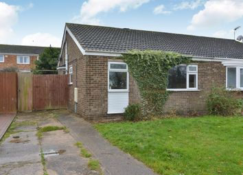 Thumbnail 3 bed semi-detached bungalow for sale in Eastfield Drive, Hanslope, Milton Keynes