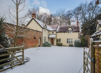 Thumbnail 4 bed detached house to rent in Woolmers Park, Hertford