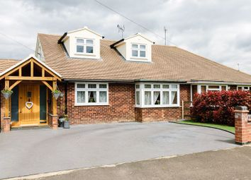 Thumbnail 4 bed semi-detached house for sale in Lilian Crescent, Hutton, Brentwood