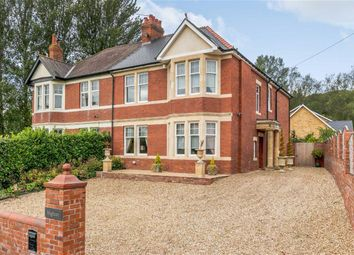 Thumbnail 4 bed semi-detached house for sale in Station Road, Llanwern, Newport