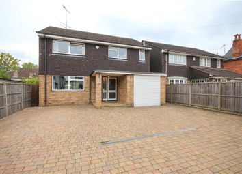 Thumbnail 4 bedroom detached house for sale in Kings Road, Fleet