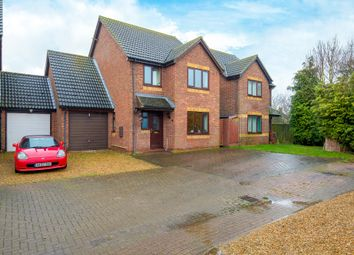 Thumbnail 4 bed detached house for sale in Chandlers Way, Ramsey Mereside, Ramsey, Huntingdon