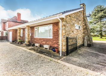 Thumbnail 2 bedroom detached bungalow for sale in Shireoaks Common, Shireoaks, Worksop