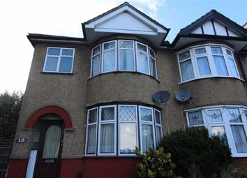 Thumbnail 3 bed semi-detached house to rent in Meadway, Woodford Green